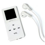 Slim Mp4 Player With Radio