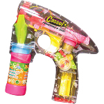 Automatic Lighted Bubble Gun