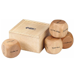 Wooden Hexi Ultimate Dice