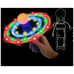 18 Light Up Led Galaxy Spinner