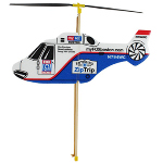 Wind Rubber band helicopter
