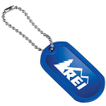 Aluminum Dog Id Tag