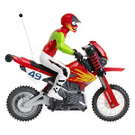 49 Mhz Remote Control Wheelie Cycle