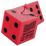 Pair Die Cut Foam Dice