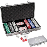 Stylish Poker Chip Set