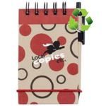 Spiral Bound Jotter Hard Kraft Cove