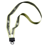 3-4 inch Reflective Lanyard with Ri