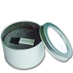 Round USB Tin