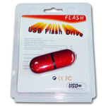 USB Flash Drive Blister Pack