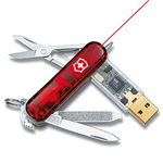 2GB Swiss Army Knife Flash Drive with Flashlight