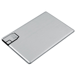 2GB Metal Credit Card USB Flash Dri