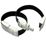 4GB Leather Wristband USB Flash Dri