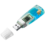 8GB Liquid Aqua USB Flash Drive