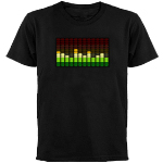 Tropical Equalizer Light Up T-shirt