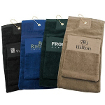 Single Fold Cotton Golf Towel