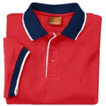 Cotton Pique Tipped Polo