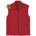 Recycled Fleece Full Zip Vest