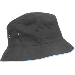 Twill Golf Hat With Trim