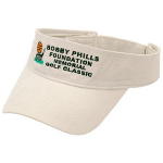 Washed Cotton Twill Golf Visor