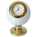 Golf Ball Design Desk Clock