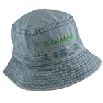 Dyed Washed Cotton Bucket Hat