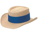 Gambler Paper Straw Hat