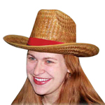 Western Cocoa Straw Hat