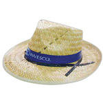 Straw Raider Style Hat