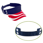 Country Flag Cotton Twill Sun Visor