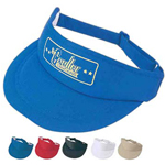 Poly Foam Visor With 100 Per Polyes
