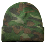 Camo Knitting Cap
