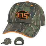 Cotton Twill Camouflage Cap
