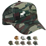 Cotton Twill Cap With Plastic Snap