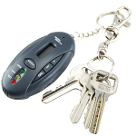 Breathalyzer Alcohol Tester Keychain