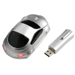 Full Size Car Shaped Wireless Mouse