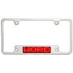 LED Scrolling License Plate Frame