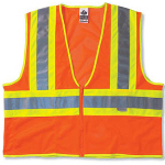 Two-Tone Auto Safety Vest