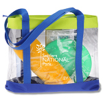 Plastic Clear Beach Bag