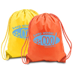 210 Denier Nylon Drawstring Bag
