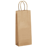 Eco Friendly Recycled Kraft Wine Ba