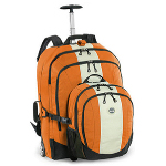 Deluxe Rolling Carry On Backpack