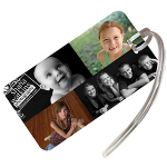 Full Color Print Luggage Tags