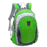 Two Color Backpack with Notebook Compartment