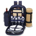 Four Picnic Pack with Blanket