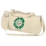 Organic Cotton Barrel Duffel