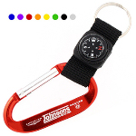 Compass Carabiner Key Chain