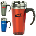 16 Oz Color Stainless Steel Travel Mug