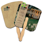 Recycled Hand Fan