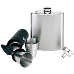 7 Piece Steel Hip Flask