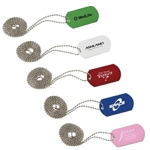 Aluminum Dog Tag With Ball Chain